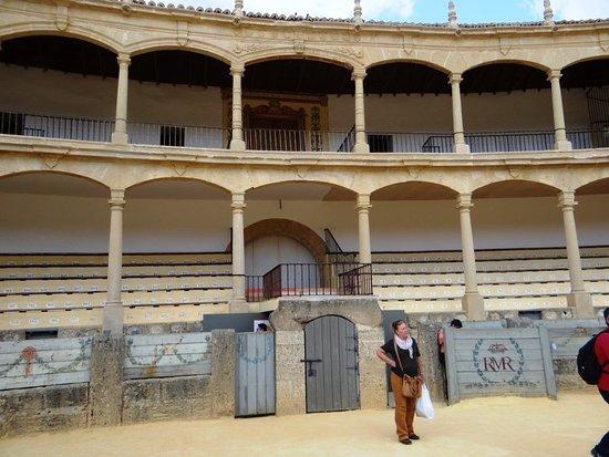 Plaza de Toros de Ronda: NO INTERIOR DA ARENA