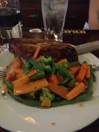 Rahway, NJ: Half rack and veggies no potatos