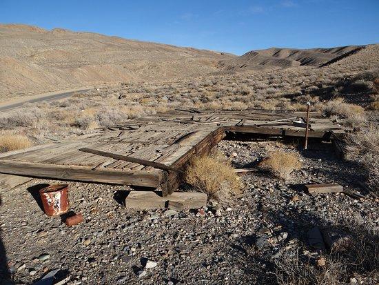 Charcoal Kilns: Mine building floor