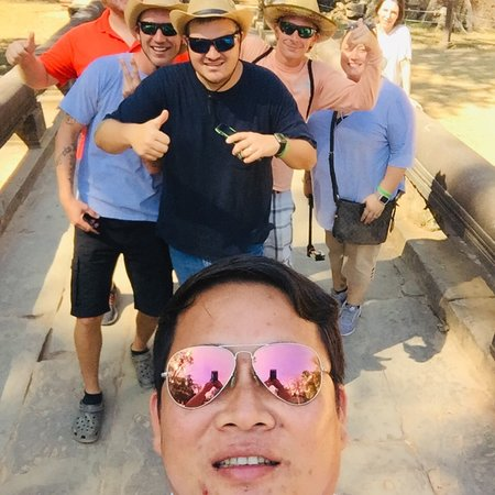 Dear travelers my name David Driver's guide in Cambodia angkor I had many year experience working and provide the best service ! WhatsApp me +12310067,