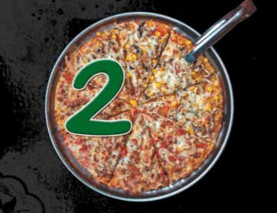 San Antonio de Pereira, Colombie: 2x1 en pizzas miércoles y jueves