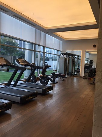Morning work out at Andaz delhi