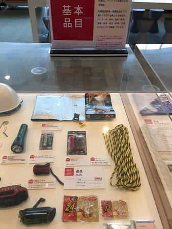 Survival kit for an earthquake