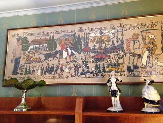 Filipstad, Sweden: Wall decoration