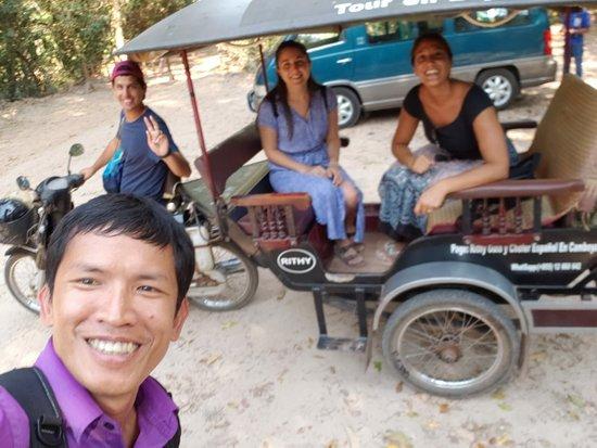 Rithy Guia y Chofer Espanol Camboya