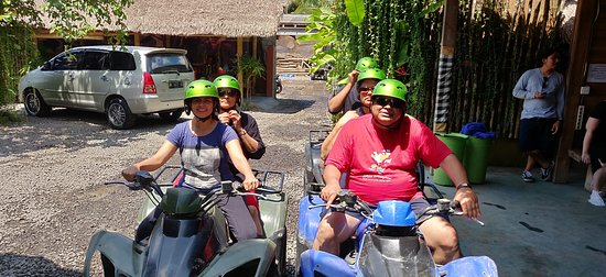 Green Bali Adventure: ATV tour starts