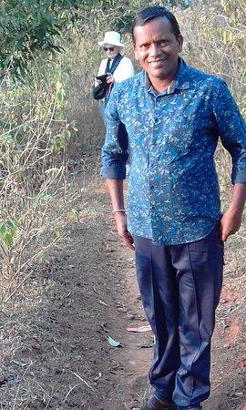 Koraput District, Indie: Our guide Davindra