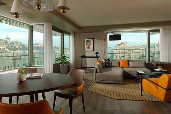 Beautiful Modern Hotel With Danube Views Review Of Budapest