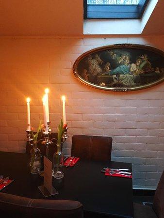 Traditie Valentijn, diner bij kaarslicht...