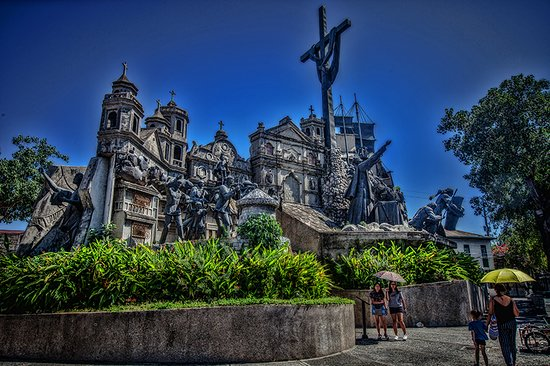 Visiting the Cebu Heritage Monument