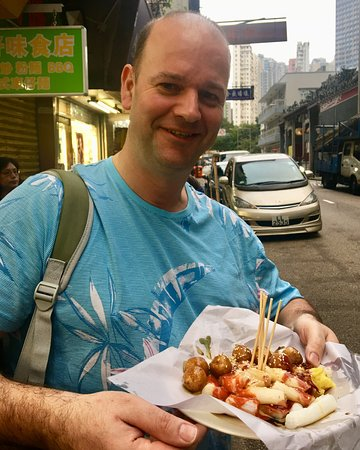Hong Kong Street Food Tour in Authentic Whampoa: More than enough food. You will not be hungry at the end of this tour.
