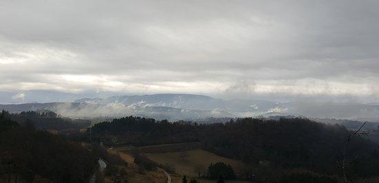 Vue depuis la Citadelle de Forcalquier