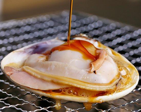Shichirin Yaki Restaurant Hana Mizuki: 活はまぐり