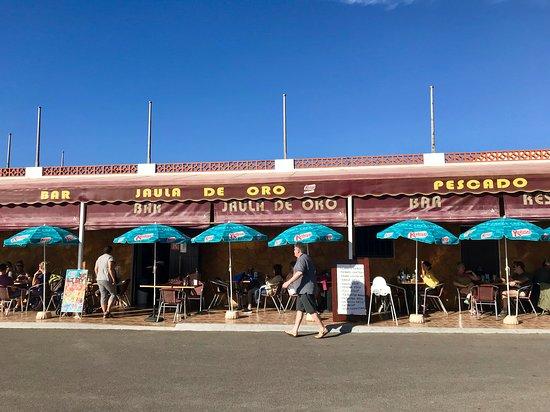 Ajuy, Spain: Restaurant La Jaula de Oro