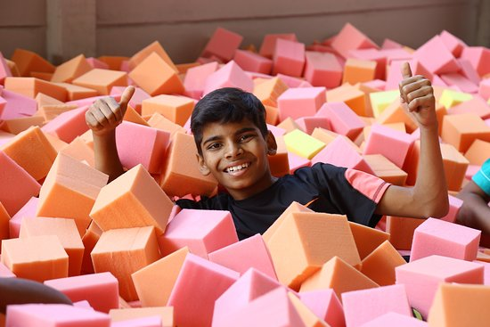 Play Nation Adventure Park: Foam Pit in the Trampoline Park