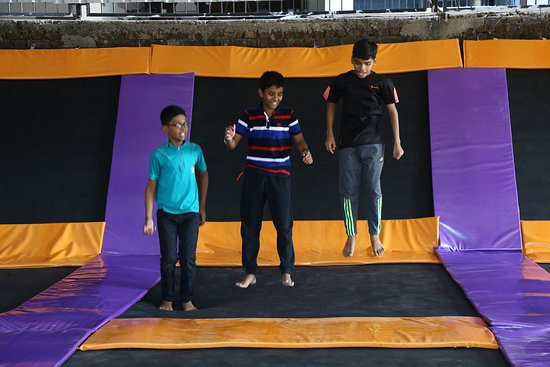 Play Nation Adventure Park: Biggest Trampoline Park of South Gujarat