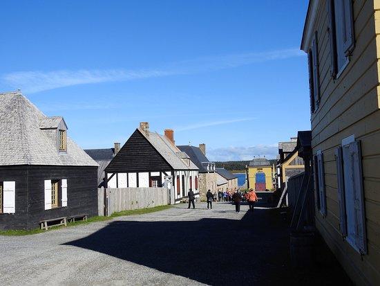 In den Straßen der Festung