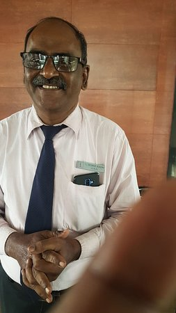 Golden Palm Roof Top Restaurant: Johm JOsph the manager