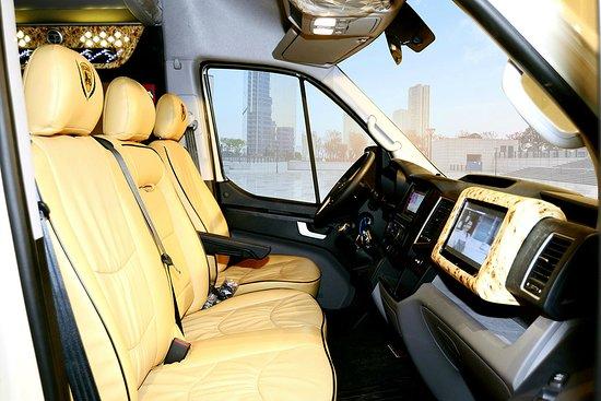 Dcar Limousine: Ford Transit 8 Seater Van Rental 2019