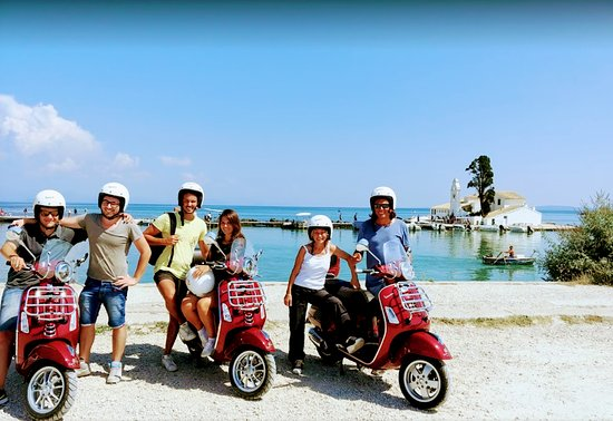 ‪Corfu Vespa Tours & Rental‬