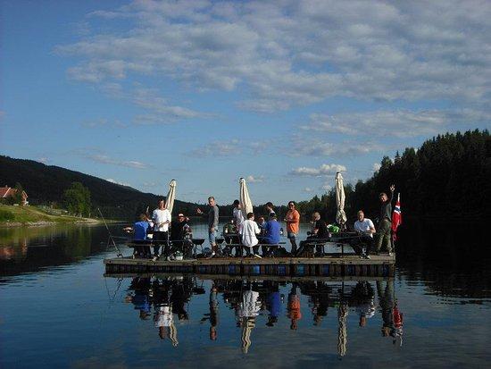 מחוז טריסיל, נורווגיה: Having fun on float on the Trysil river