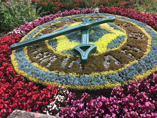 ‪Morpeth Floral Clock‬