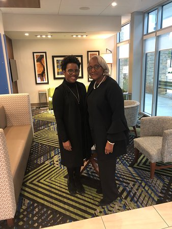 """Living our """"best life"""" at Holiday Inn &Express in South Hill , Va"""