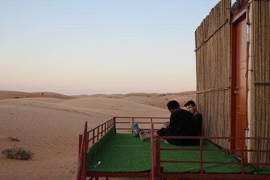 Ash-Sharqiyah Governorate, Oman: small outside terrasse
