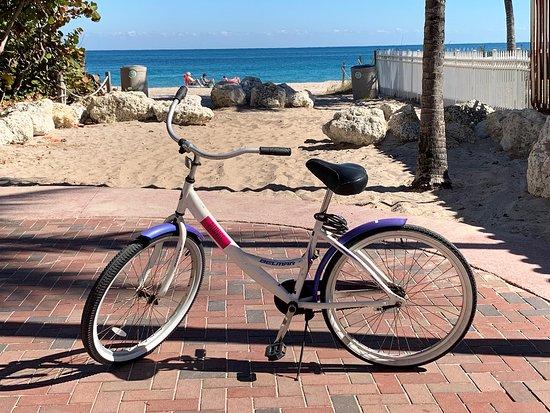 Plunge Beach Resort: Gratisfahrrad