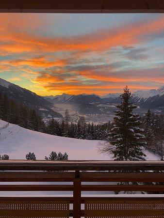 Mosern, Austria: Geweldig hotel met uitzicht