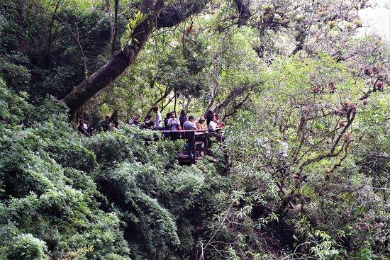 Giron, Ecuador: Viewing station