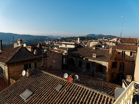 Sina Brufani: View From Room