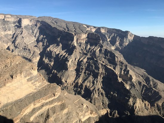 Wadi Ghul - Oman's Grand Canyon