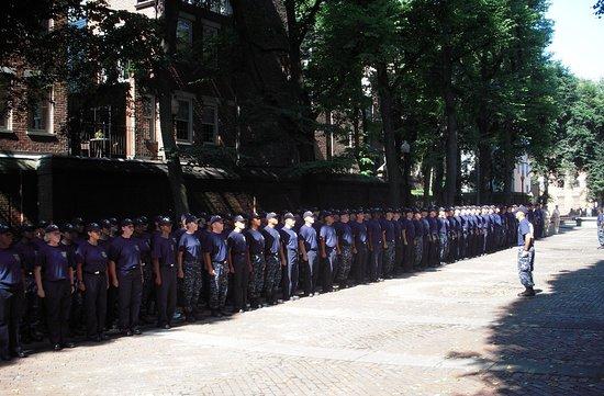 Boston: addestramento reclute