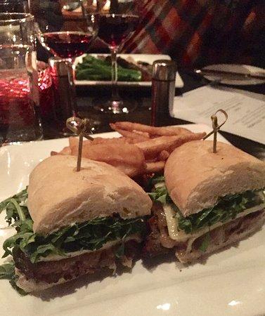 Black Butte Ranch, OR: Grilled Flat Iron Steak Sandwich