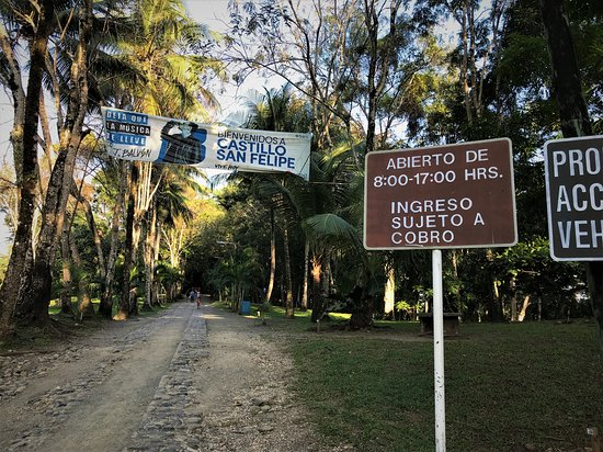 Rio Dulce, Γουατεμάλα: This is the other entrance to the castle, for people coming with car