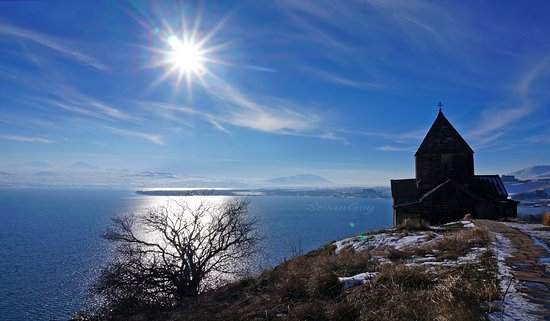Lake Sevan , peninsula