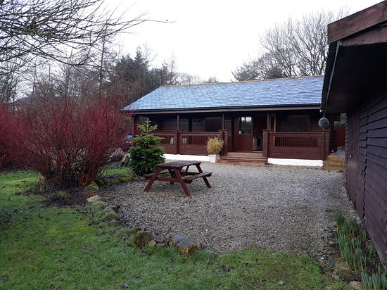 Tosside, UK: Lovely lodge in a peaceful setting