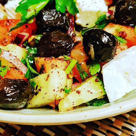 Delicious and full of taste Greek Salad