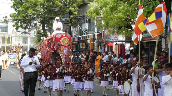 A festival to celebrate the harvest in Yala