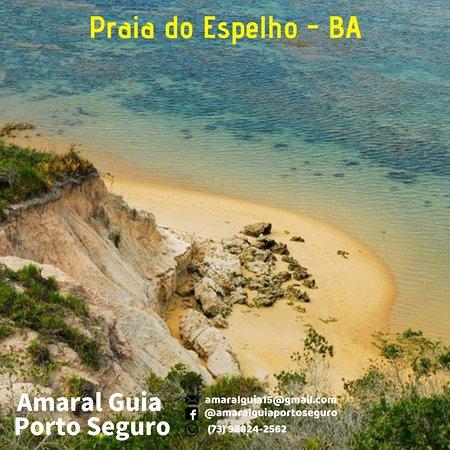 PORTO SEGURO  PRAIA DO ESPELHO - BAHIA  GUIA AMARAL PORTO SEGURO