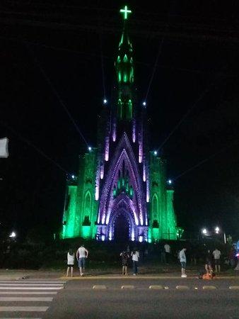 Catedral de Pedra em Canela.