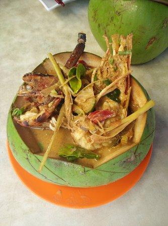 Sarikei, Malaysia: tom yam udang. Juara !