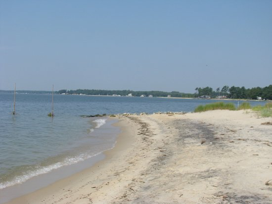The beautiful Chesapeake Bay near White Stone Virginia
