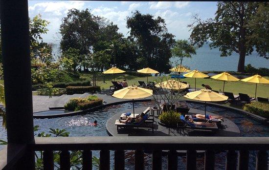 The ShellSea Krabi: Screaming kid at pool