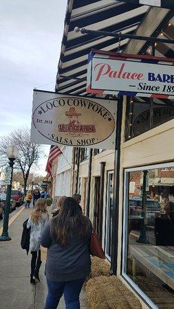 Loco Cowpoke Salsa Shop