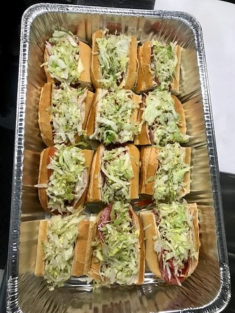 Alberto's Pizza Shop: Sub trays to your office or event!
