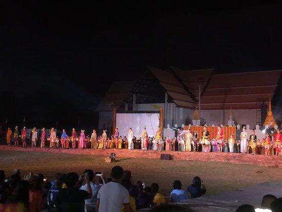 Phitsanulok, Thaimaa: งานแสดงละครอิงประวัติศาสตร์