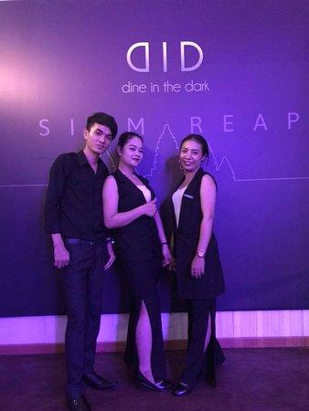DID- Dine in the Dark Siem Reap hostess