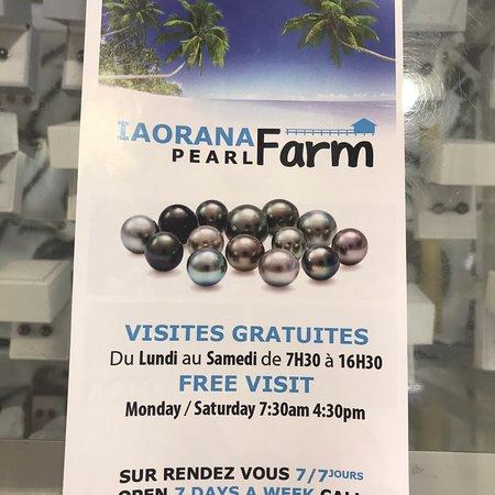 Iaorana Pearl Farm